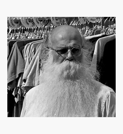 Santa's Summer Photographic Print