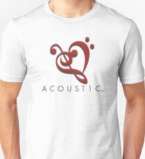 Acoust1c Heart Unisex T-Shirt