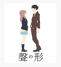 Koe no Katachi - Vector Photographic Print