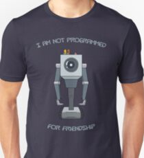 Rick and Morty – I Am Not Programmed for Friendship T-Shirt