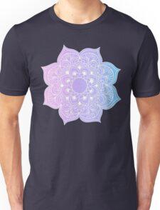 Mandala pink purple blue Unisex T-Shirt