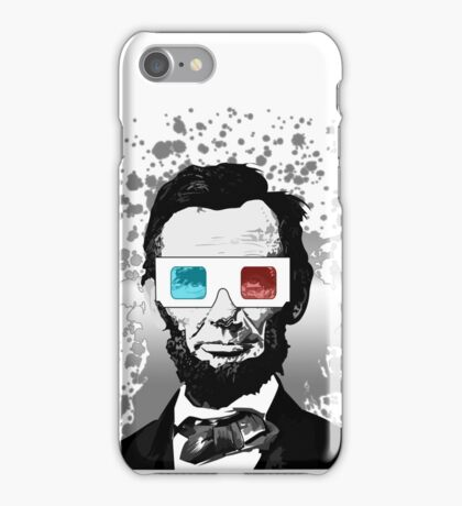Abraham Lincoln - 3D (2) iPhone Case/Skin