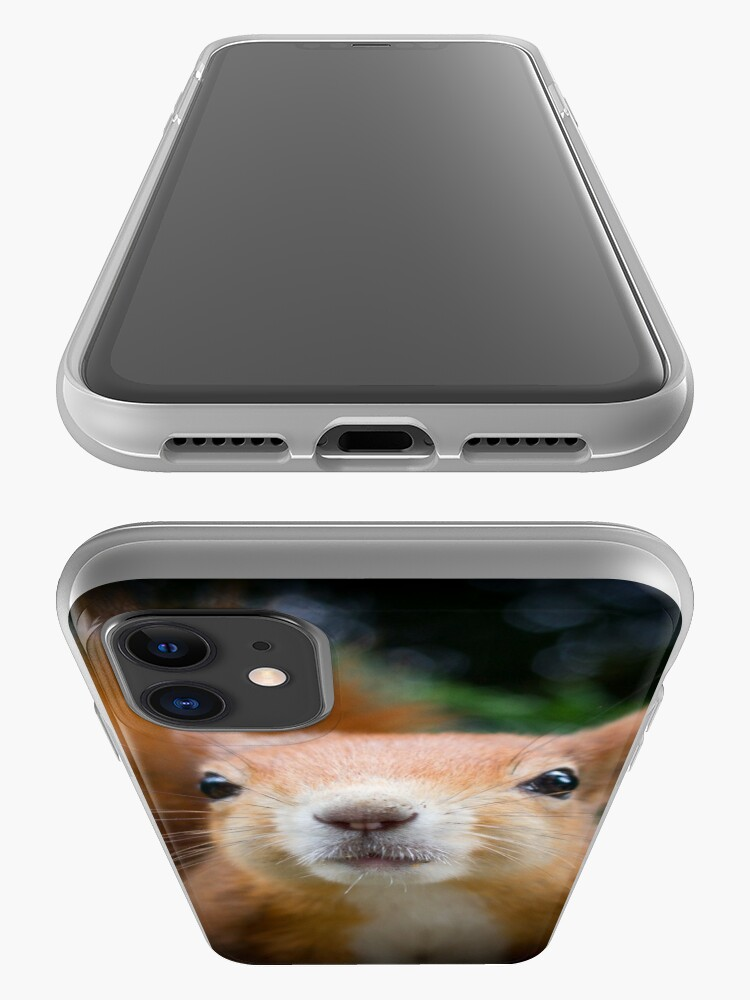 Alternate view of Squirrel all up in your face iPhone Case & Cover