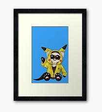 Pikachu Ferret Framed Print