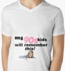 90s kids Men's V-Neck T-Shirt