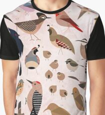 Sonoran Birds Graphic T-Shirt
