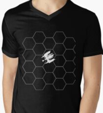 Ship Over Hex Board - White T-Shirt