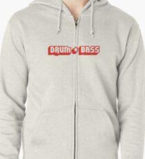 DRUM + BASS Zipped Hoodie
