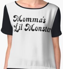 Momma's Lil Monster Chiffon Top