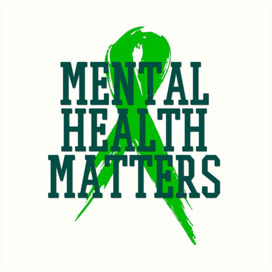 Mental Health Matters End The Stigma Art Prints By Kathydodd19