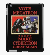 Vote Megatron iPad Case/Skin