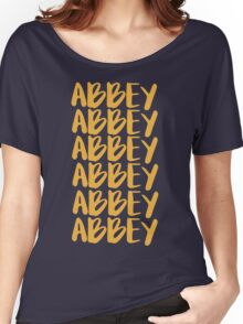 ABBEY Women's Relaxed Fit T-Shirt