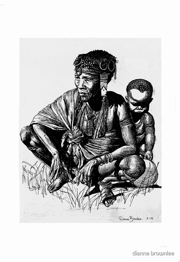 Ancestral Africa 2  by dianne brownlee