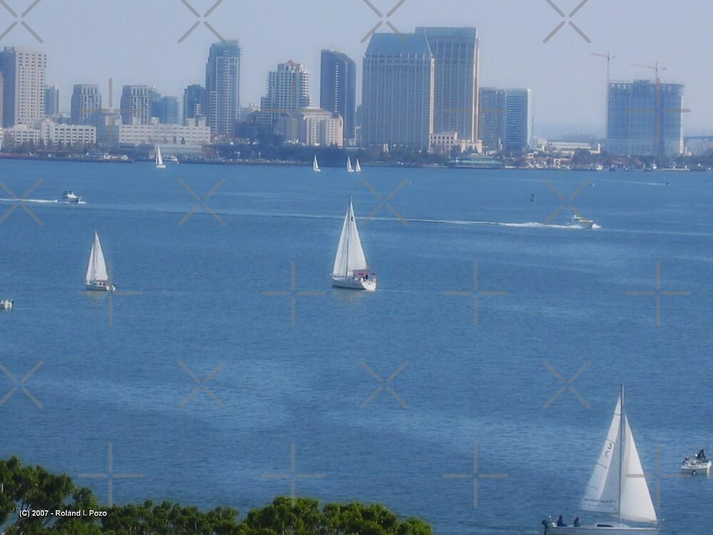 Sailboats at Play by photorolandi
