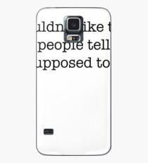 Fremde Dinge Hülle & Klebefolie für Samsung Galaxy