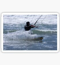 Kitesurfing in the Ocean - Coming Back to Shore Sticker