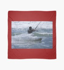 Kitesurfing in the Ocean - Coming Back to Shore Scarf