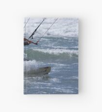 Kitesurfing in the Ocean - Coming Back to Shore Hardcover Journal