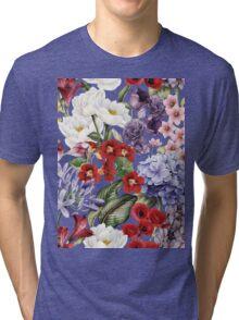 Flower garden Tri-blend T-Shirt