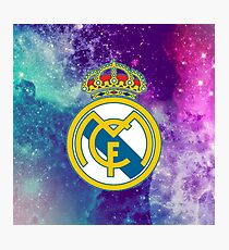 Real Madrid FC Galaxy Photographic Print