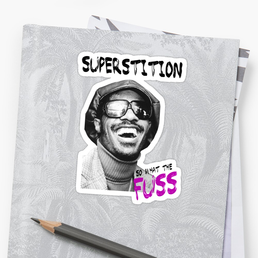 Stevie Wonder - Superstition by Soul-Tshirts
