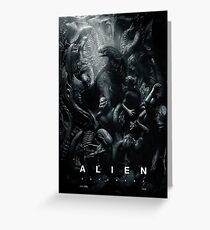 Alien Hell Greeting Card