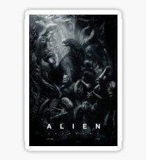 Alien Hell Sticker