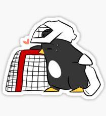 love your goalposts Sticker