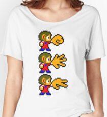Alex Kidd - SEGA Master System Sprite Women's Relaxed Fit T-Shirt