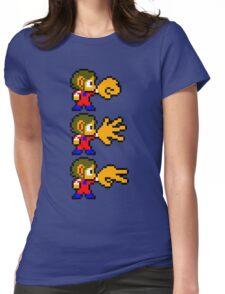 Alex Kidd - SEGA Master System Sprite Womens Fitted T-Shirt