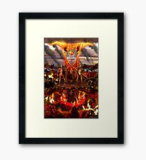 Hellfire Triptych: The Duelists Framed Print