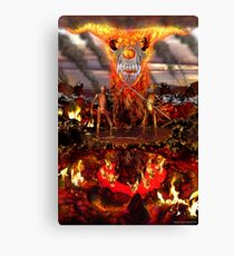 Hellfire Triptych: The Duelists Canvas Print