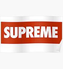 SUPREME X NIKE Poster