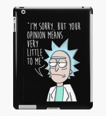 your opinion little to me iPad Case/Skin