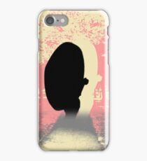 Pastel tone and black shadow. Pastel Contrast iPhone Case/Skin