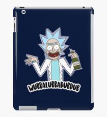 wubbalubbadubdub ricky tiny iPad Case/Skin