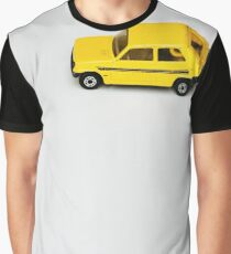 Lil Yellow Car Graphic T-Shirt