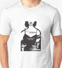 La Notte - The Night - Michelangelo Antonioni Unisex T-Shirt