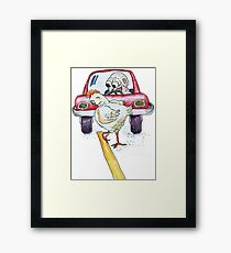 Chicken Dance Framed Print
