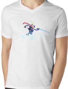 Super Smash Bros. — Greninja Mens V-Neck T-Shirt