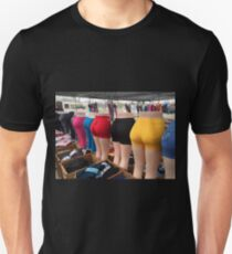 The BUTTS All Lined Up In A Row Unisex T-Shirt
