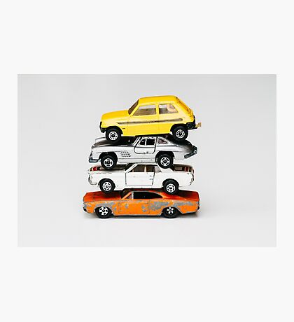 4 Toy Cars Photographic Print