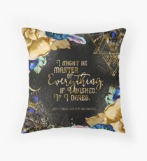 Master of Everything Throw Pillow