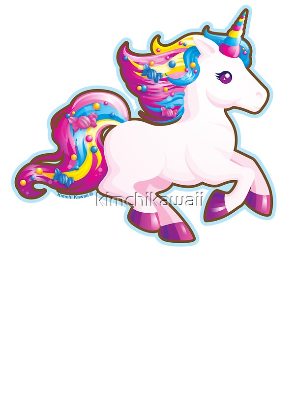 Quot Kawaii Magical Candy Unicorn Quot Stickers By Kimchikawaii