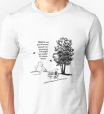 Winnie the Pooh - Promise Me You'll Never Leave Unisex T-Shirt