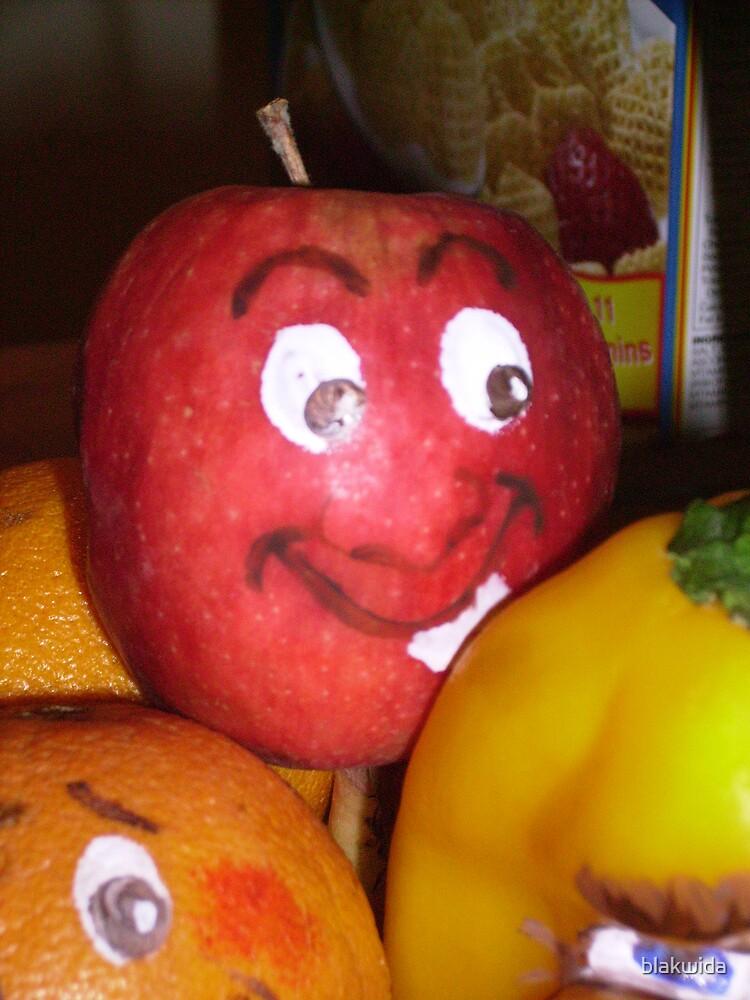 your the apple of my eye... by blakwida