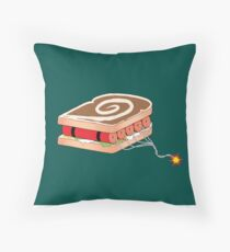 Dynamite Sandwich Throw Pillow