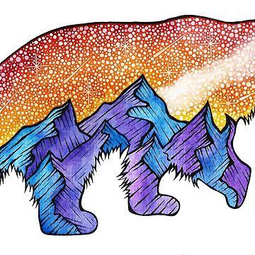 Montana Mountain Bear  by AuroraAngove