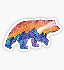 Montana Mountain Bear  Sticker