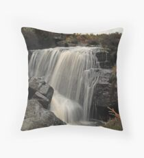 Hambleton Dyke Waterfall 2 Throw Pillow